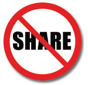 do not share